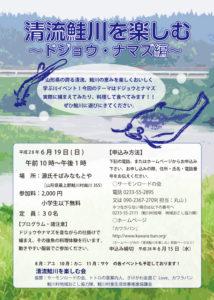 ドジョウ・ナマズ編